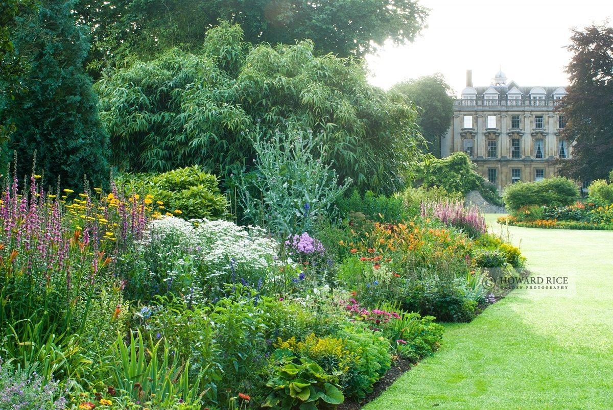 Fellows Garden, Clare College. Cambridge.